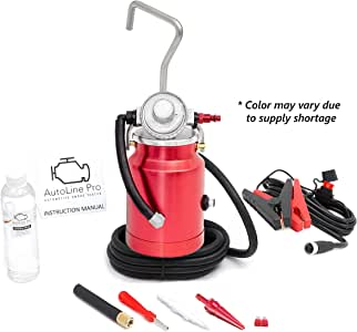 AutoLine Pro EVAP Vacuum Automotive Smoke Machine Leak Detector Diagnostic Tester - Shop Series - Compact