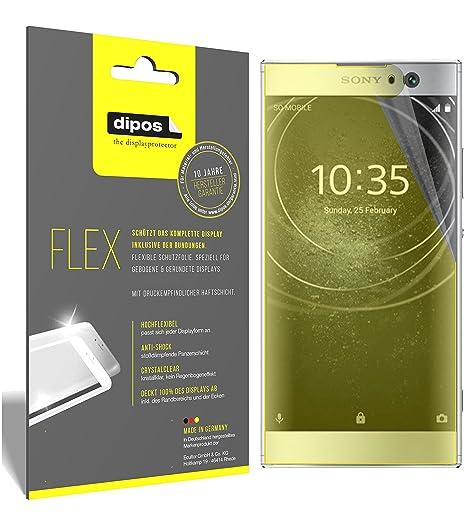 dipos I 3X Schutzfolie 100% passend für Sony Xperia XA2 Folie (Vollständige Displayabdeckung) Displayschutzfolie