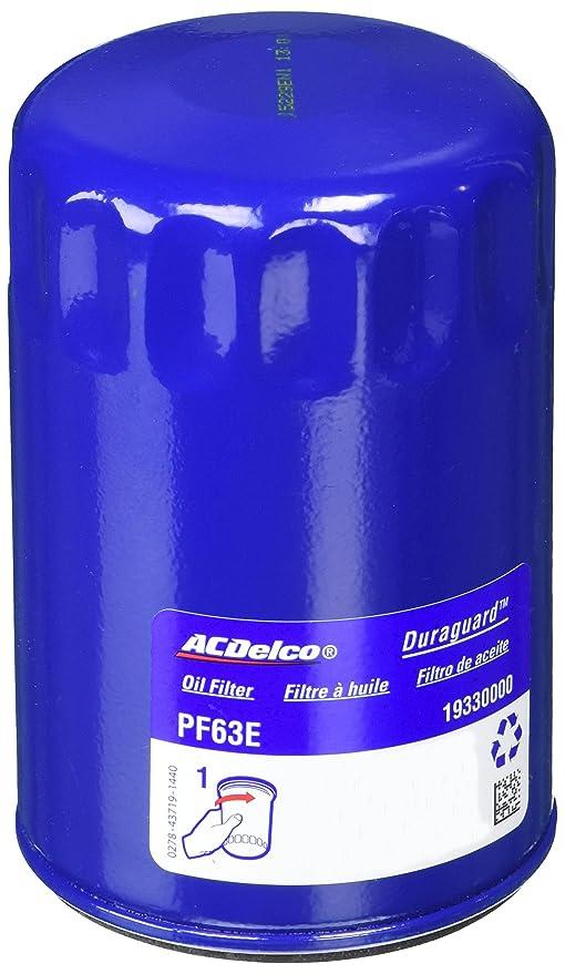 ACDelco pf63e profesional Motor Filtro de aceite
