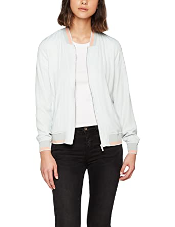 Mavi Zip Up Jacket, Chaqueta Bomber para Mujer: Amazon.es ...