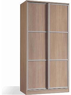 Armario ropero con Espejos Color Cambrian de 2 Puertas ...