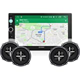 Woodman Doubledin WM-GPS3030 GPS Navigation With FM/Bluetooth/USB (1080px Full HD) Car Stereo With 2 Pair (4 Speakers) of WM-1652 6 Inch Car Speakers
