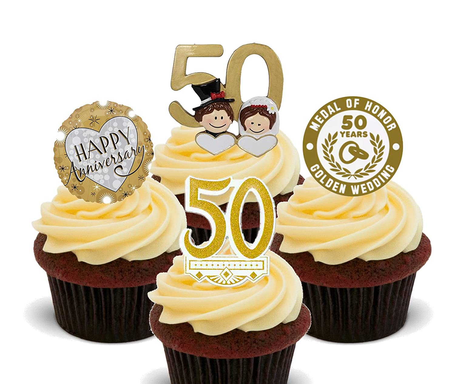 Edible Cake Decorations For Th Birthday