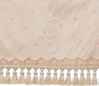 product image for Glenna Jean Crib Florence Skirt Dust Ruffle for Baby Nursery Crib, PRINCESS, FLOWERS, CLASSY