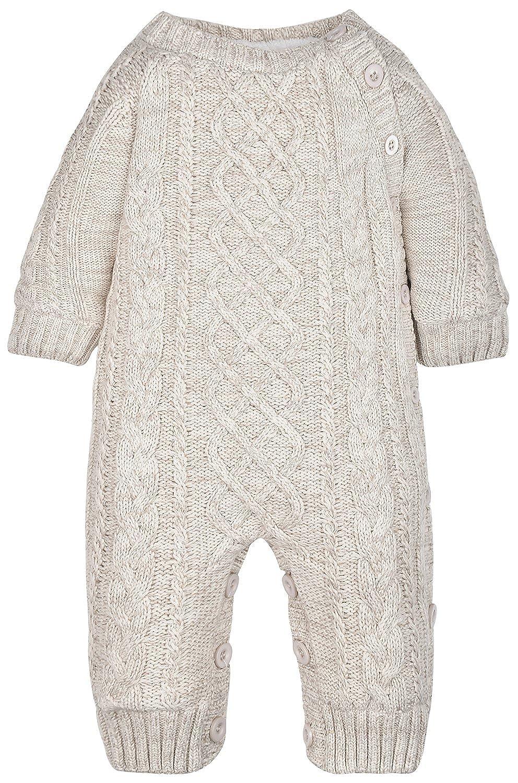 ZOEREA Unisex Tutine neonato Maglione bambino Maglioni Cardigan bimba Tutina pagliaccetto Giacca natale maglione YS2040-BG-12M