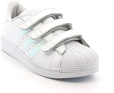 Basket Mixte Enfant adidas Superstar CF I
