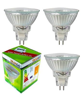 Bombillas LED Trango TGMR16030, regulables, MR16, GU5.3, 3 W,