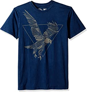 Affliction Motor Works Tribe A19070 New Short Sleeve Graphic T-shirt for men