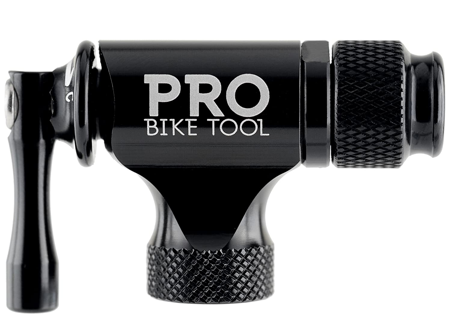 Pro Bike Tool CO2 Inflator Quick /& Easy No CO2 Cartridges Included Presta /& Schrader Valve Compatible Insulated Sleeve Bicycle Tyre Pump For Road /& Mountain Bikes