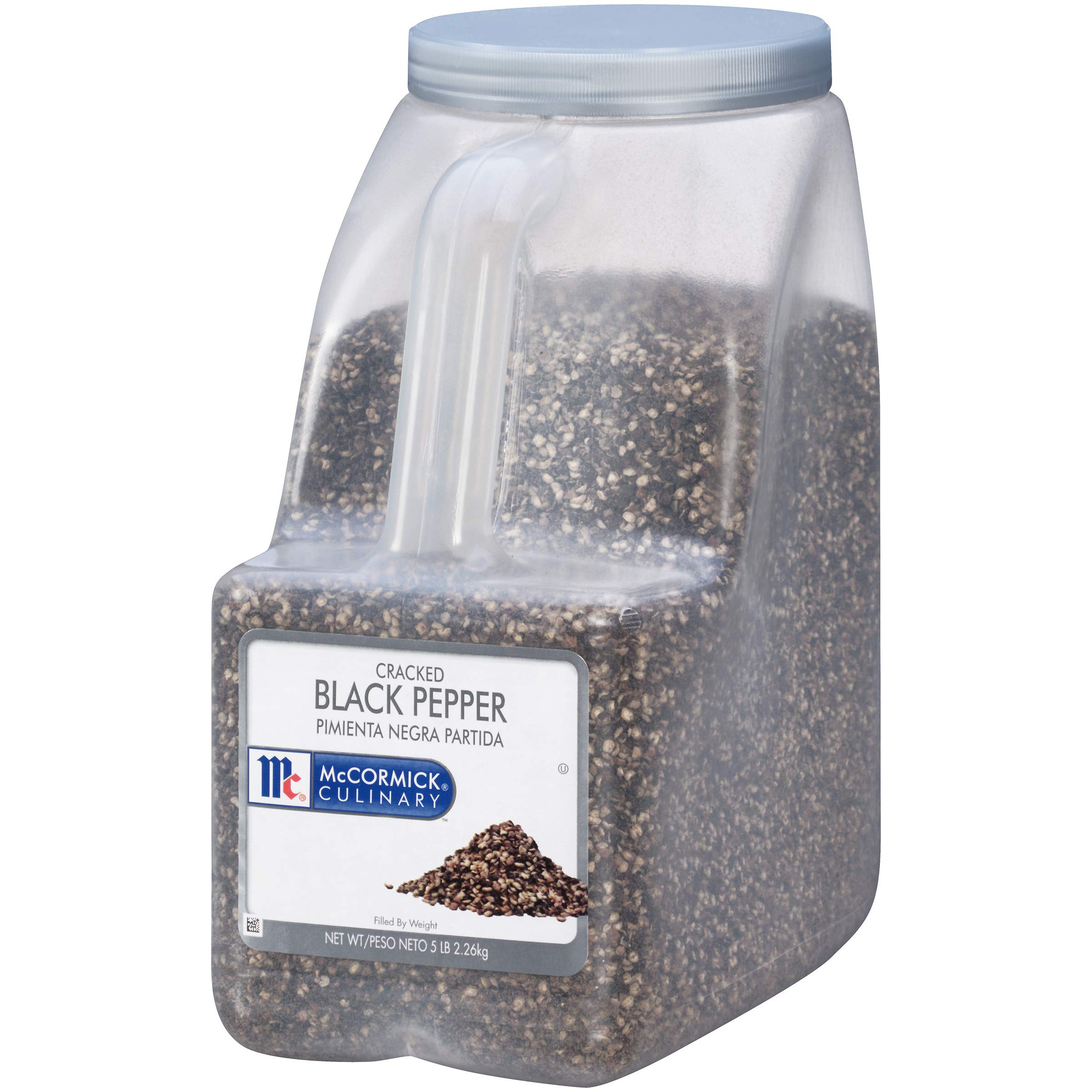 McCormick Culinary Cracked Black Pepper, 5 lbs by Cattlemen's