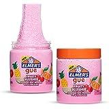 Elmer's GUE Pre Made Slime, Fruity Slushie Crunchy Slime, Scented, 2 Count