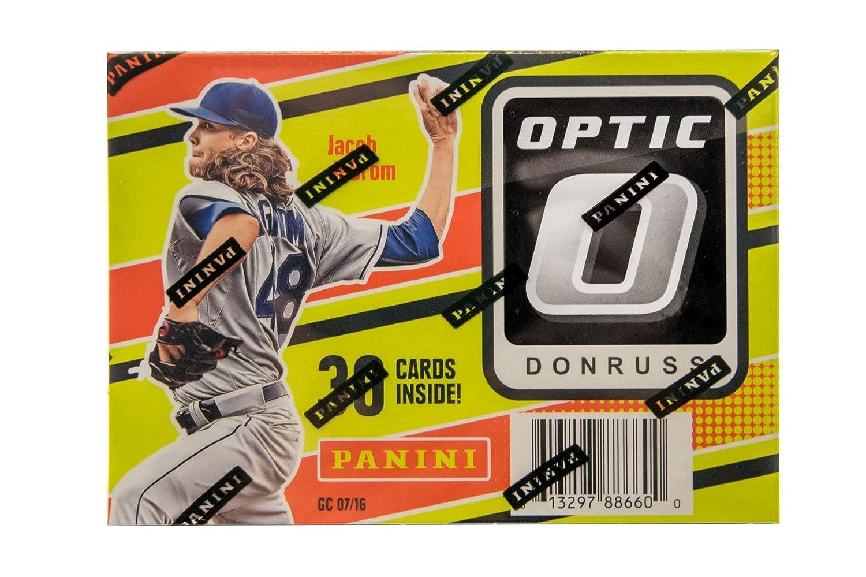 Amazoncom Panini Mlb 2016 Donruss Optic Baseball Blaster Box