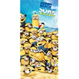 Universal Despicable Me Minions Beach Towel