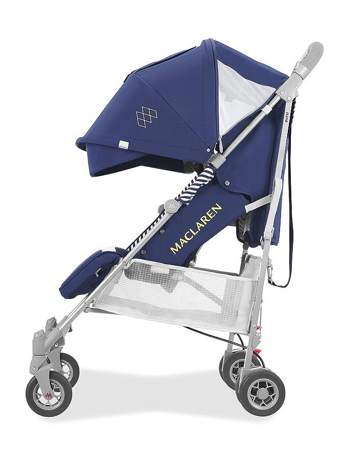 Maclaren Quest arc Silla de paseo - ligero, manillar unido, para recién nacidos hasta los 25kg, Asiento multiposición, suspensión en las 4 ruedas