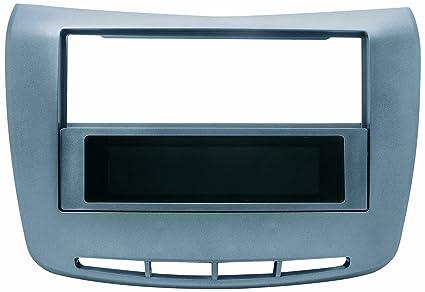 Phonocar 3/479 - Marco embellecedor para radio de coche Lancia Delta, color gris
