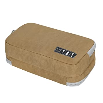 1234fbfb9227 Amazon.com: Hynes Eagle Toiletry Organizer Bag Travel Shaving Dopp ...