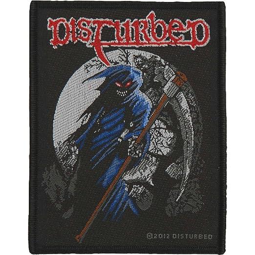 0a319e3e835 Amazon.com  Disturbed Reaper Official Patch (9cm x 10cm)  Clothing