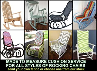 Made to Measure - Quote & Fabric Samples for waterproof cushions - Rocking Chairs - Pallet Furniture - Rattan Furniture - Garden Furniture - Campervans - Caravans & Boats - Over 20 Colours