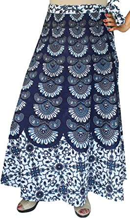 Cotton Long Indian Skirt Womens Printed India Clothing