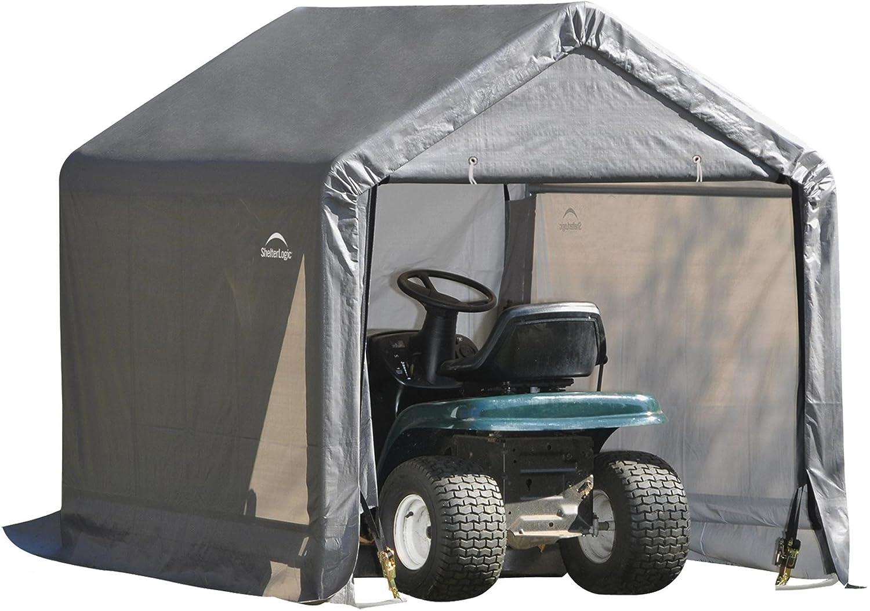 Shed in a Box Abri en acier avec bâche Triple couche de protection en polyéthylène Extra résistant imperméable 180 x 180 x 180H ShelterLogic