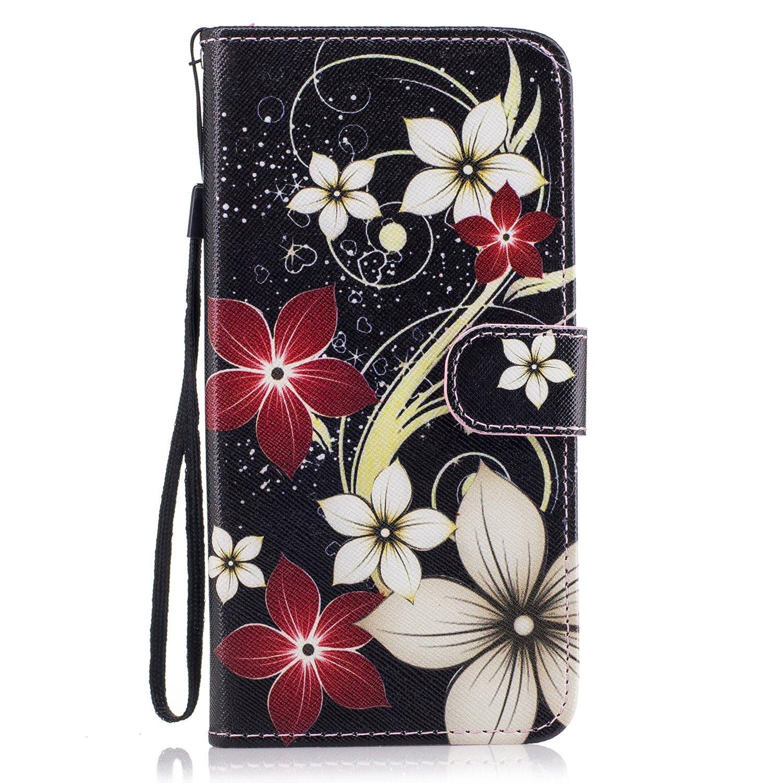 割引価格 (Flower) - Leather Samsung Galaxy for S8 PU Plus Case, Spritech Premium PU Leather Wallet Protective Case Cover with Card Slots, Magnetic Closure and Stand Feature for (2017) Samsung Galaxy S8 Plus/Edge フラワー B06XRY63RM, イズモザキマチ:198ffa9b --- ciadaterra.com