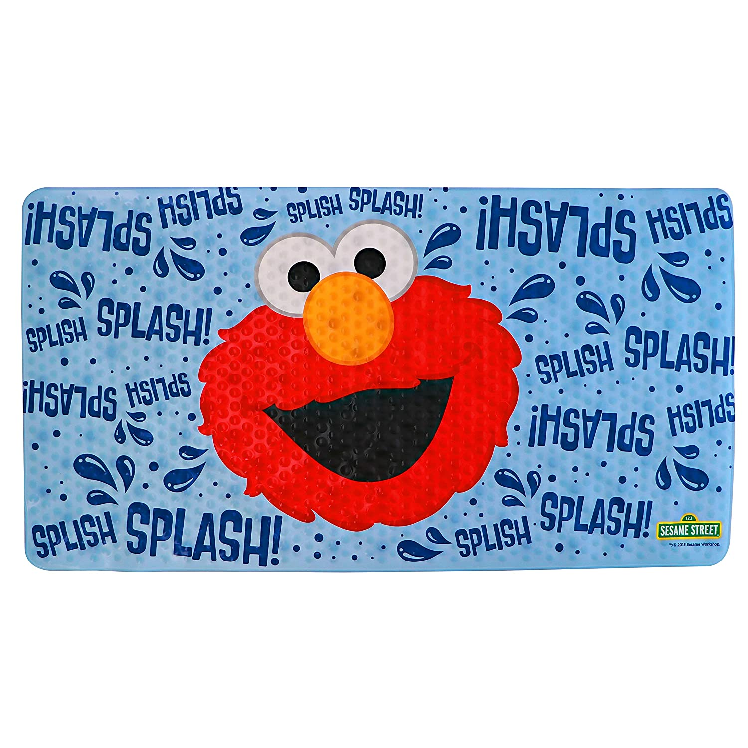 "Ginsey Color Changing Bath Mat, Sesame Street Elmo, 15"" X 27"""