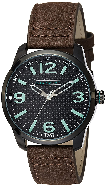 Giordano Analog Black Dial Men's Watch-A1049-03