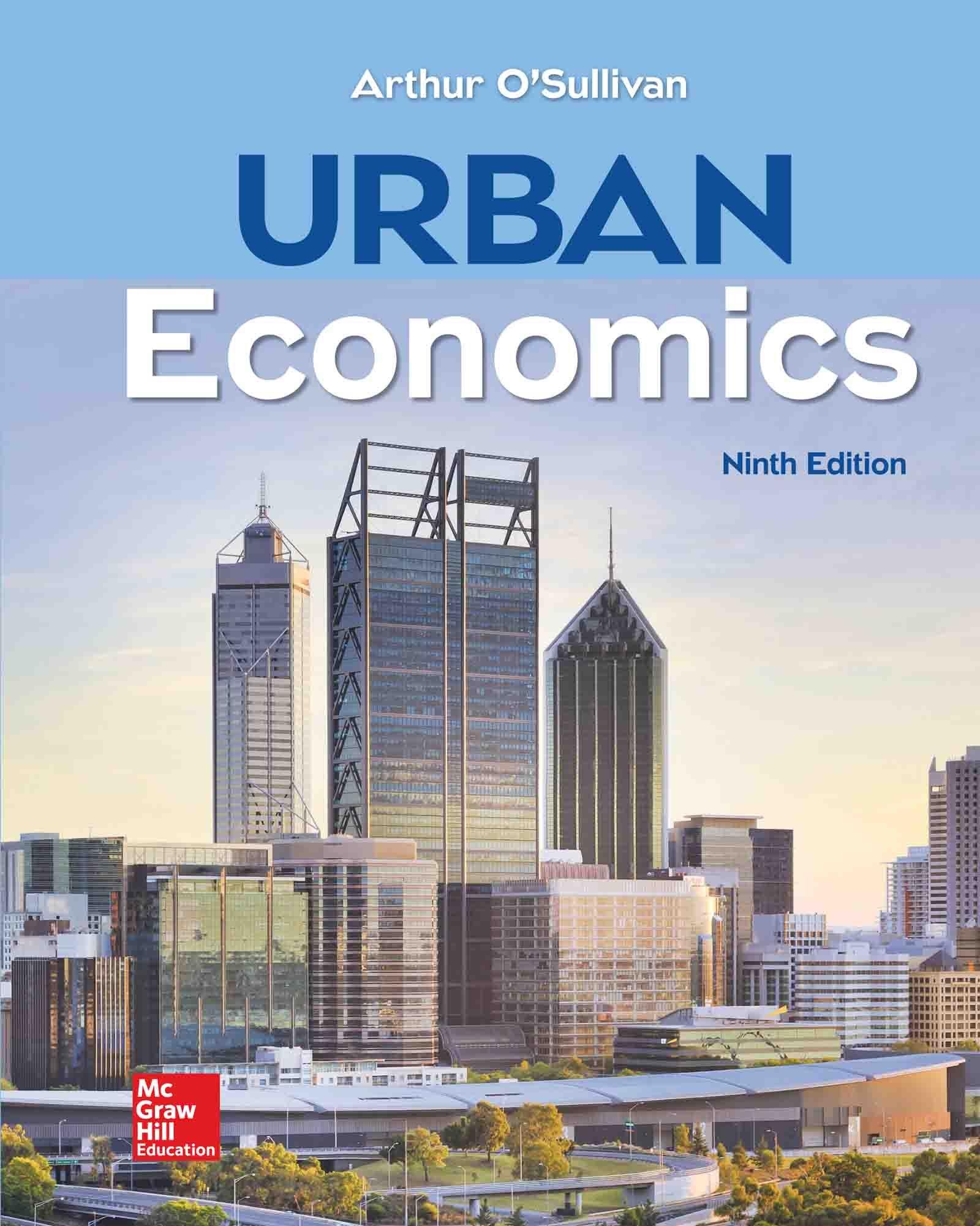 Amazon Com Urban Economics Ebook O Sullivan Arthur Kindle Store