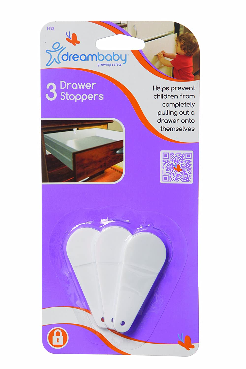 Dreambaby Drawer Stoppers 3 Pack