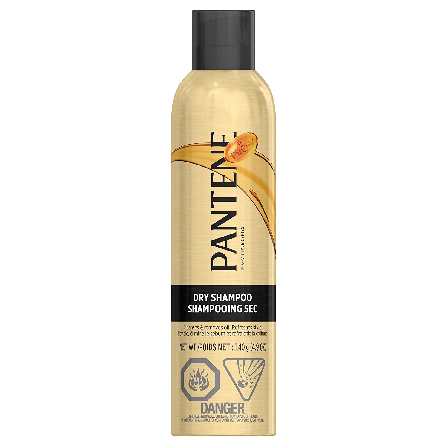 Pantene Pro-V Dry Shampoo Clean and Fresh 140 g(packaging may vary)