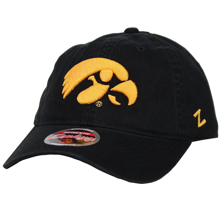 Iowa Hawkeyes Zephyr NCAA Collegiate Classic Low Profile Adjustable Baseball Hat Logo