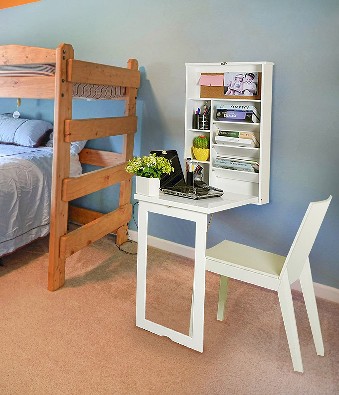 kids desk furniture. A2Z 4 Kids® Kids Desk, Wall Mounted, Foldaway \u0026 Personalised Blackboard: Amazon.co.uk: Kitchen Home Desk Furniture 2