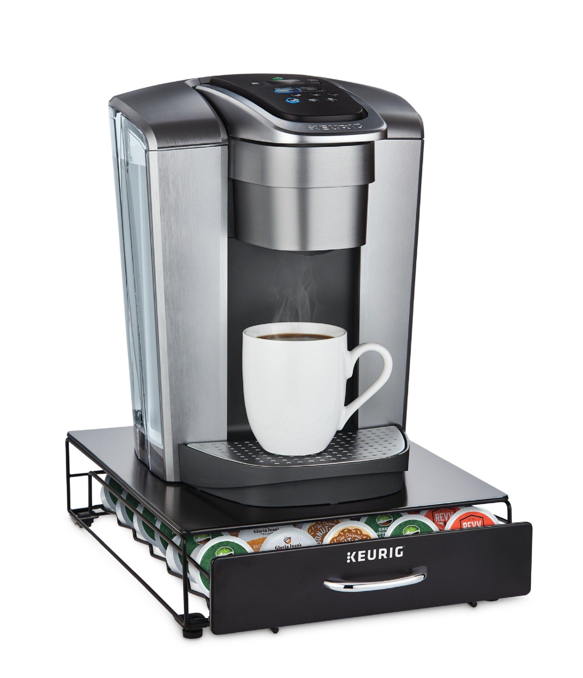 Keurig Under Brewer Storage Drawer, K-Cup Pod Organizer Holds 35 Coffee Pods, Fits Under Keurig K-Cup Pod Coffee Makers, Black by Keurig (Image #3)
