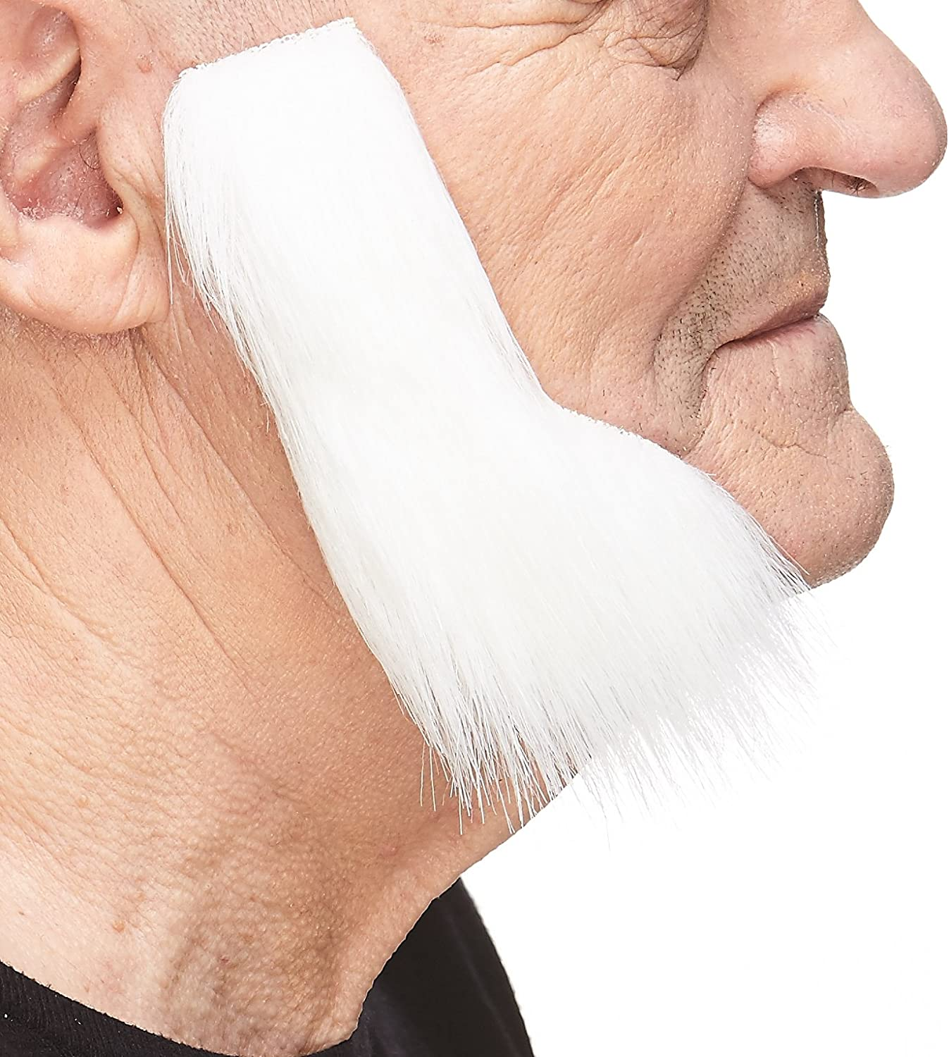 Costume Accessory for Adults Novelty Mustaches Self Adhesive False Facial Hair Fake Mutton Chops Sideburns