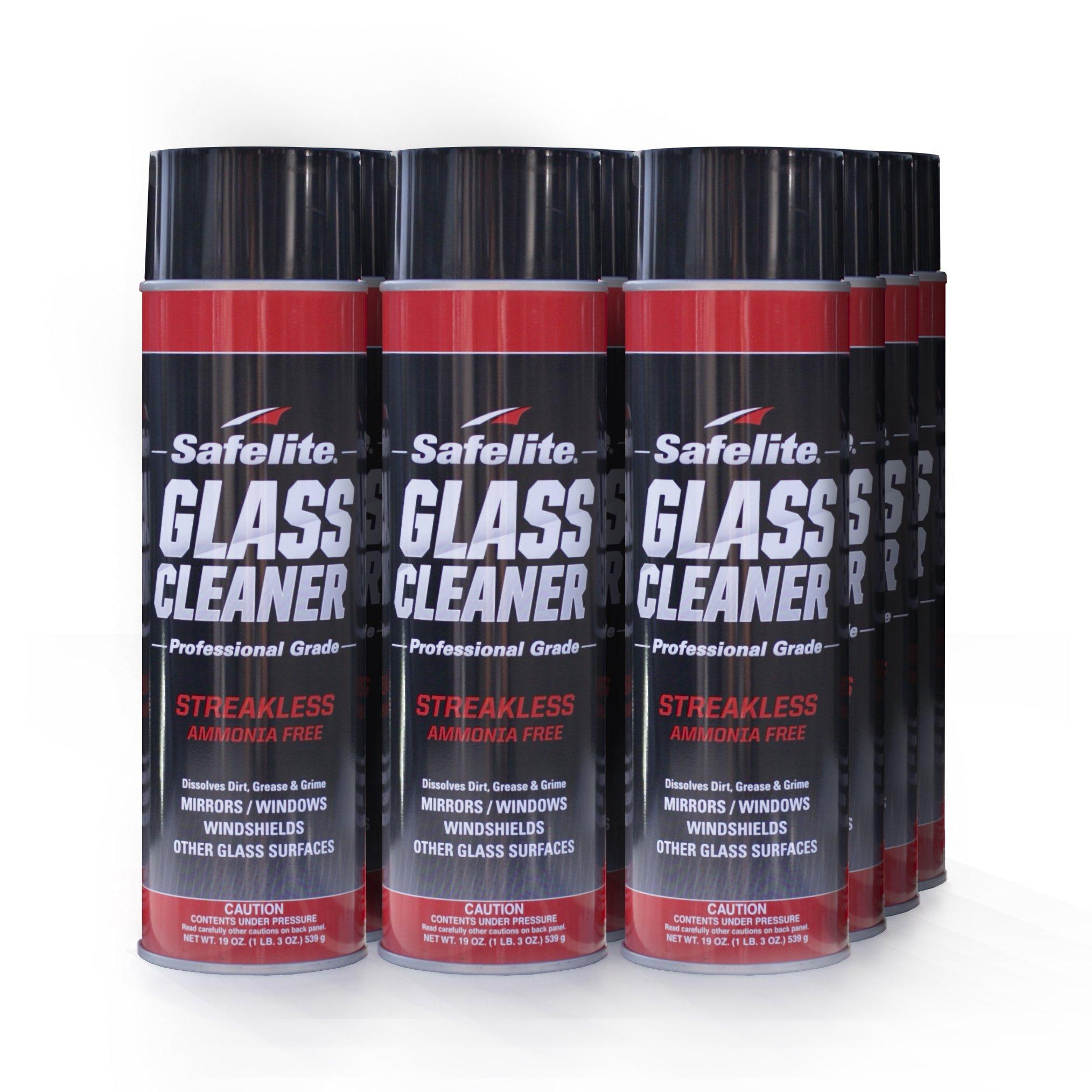 SAFELITE AUTOGLASS Safelite Glass Cleaner, 19 oz, 12 Pack