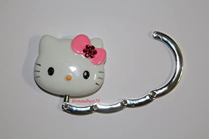 06edbecb98c0 Amazon.com  LOVEKITTY® Cute 3D Pink Bow Rhinestone Foldable Hello ...