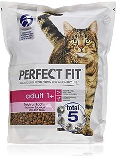 Iams Naturally Katze Lachs Trockenfutter Fur Erwachsene Katzen