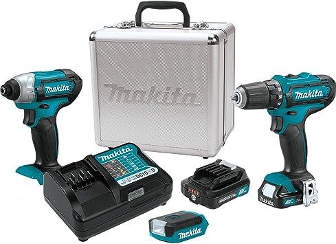 MAKITA FD05Z 12V MAX CXT Cordless Driver-Drill /& ML103 LED Flashlight TOOL ONLY