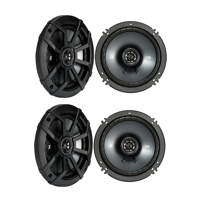 (4) KICKER 43CSC654 CSC65 6.5'' 6-1/2'' 1200w 4-Ohm Car Audio Coaxial Speakers by Kicker