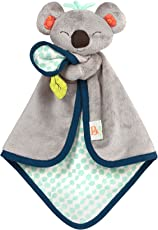 B. Toys – B. Snugglies – Fluffy Koko The Koala Security Blanket – Adorable Baby Blankie with Soft Fabric – BPA Free