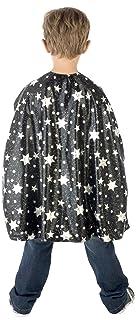 CARITAN–Wizard Cape accessorio per bambini (nero e argento) 59218