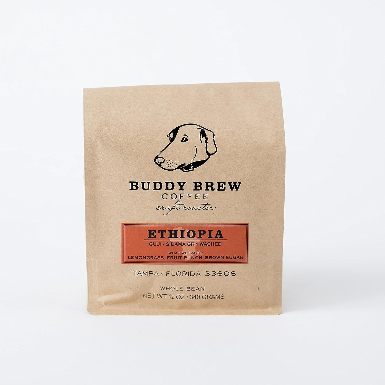 Amazon com : Buddy Brew Coffee - Ethiopia, Sidama, Guji