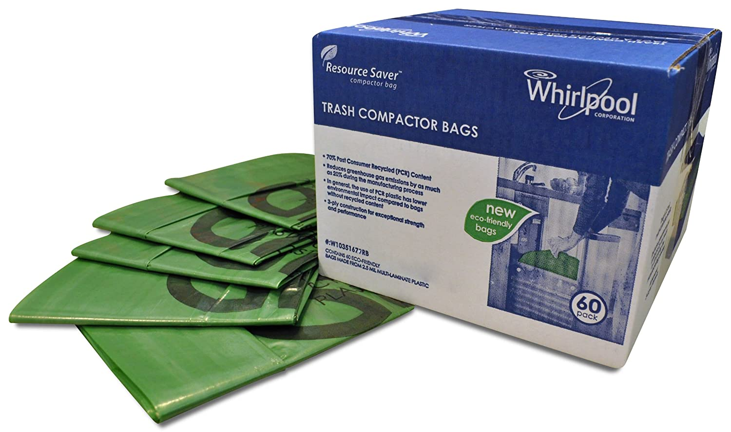 How Does A Trash Compactor Work Amazoncom Whirlpool W10165294rb 15 Inch Plastic Compactor Ba