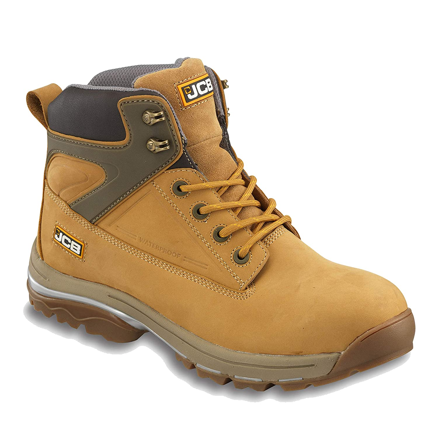 c291f84273b Amazon.com: Jcb Mens Fast Track Waterproof Leather Steel Toe Boots ...