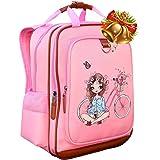 Girls Backpack 15''| Pink Kids School Book Bag for Kindergarden or Elementary.