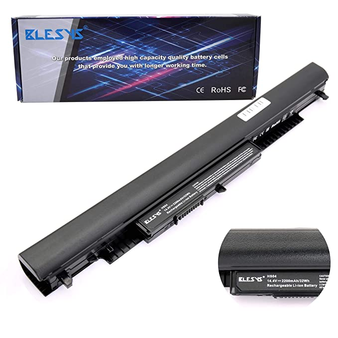 BLESYS 14.6V HP Batería 807956-001 807957-001 844197-850 Batería para portátil Compatible con HP 240 G4 245 G4 246 G4 250 G4 255 G4 256 G4 Serie Notebook: ...