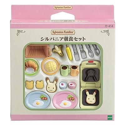Sylvanian Families furniture Sylvania breakfast Settoka -414 (japan import)