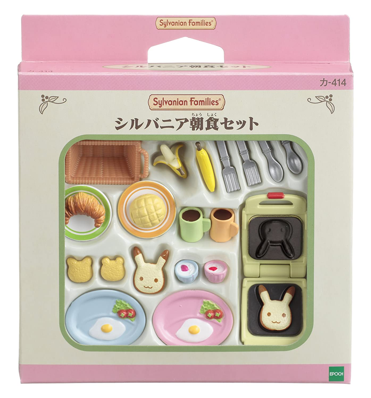 Sylvanian Families furniture Sylvania breakfast Settoka -414 (japan import) Epoch 4905040262707