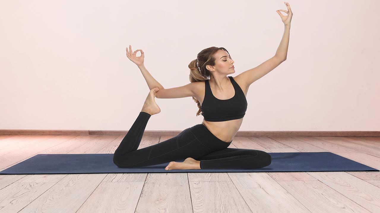 Fengbay High Waist Yoga Pants, Pocket Yoga Pants Tummy Control Workout Running 4 Way Stretch Yoga Leggings 7