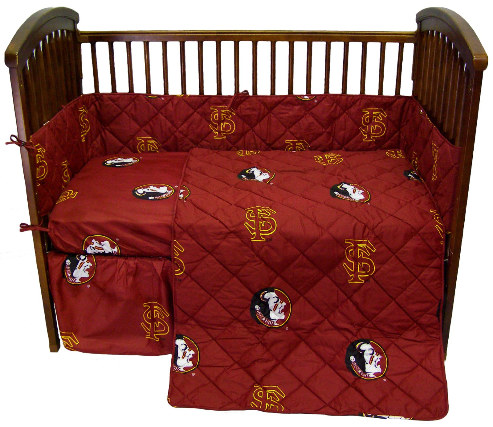 College Covers Florida State Seminoles 5 piece Baby Crib Set